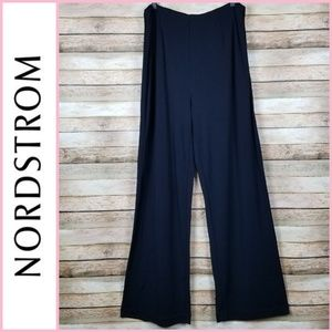 Emme from Nordstrom Navy Wide Leg Trouser Pants